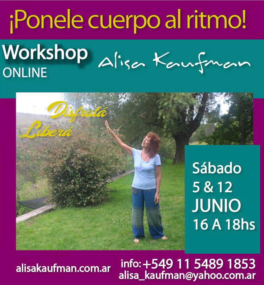 Workshop «Ponele cuerpo al ritmo»